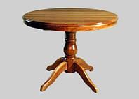 Столы круглые деревянные раскладные из массива дуба