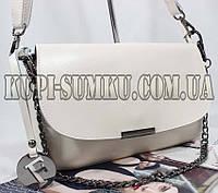 FURLA сумочка-клатч из натуральной кожи