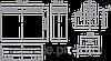 Аккумулятор BOSSMAN 6DZM20 12v 20ah (Гелиевый) тяговый, фото 2