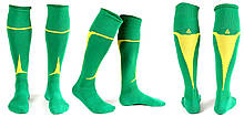 Гетры Liga Sport зелено-желтые