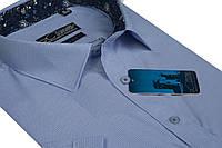 """Мужская рубашка с коротким рукавом """"Castello -Graf_16"""""""
