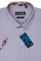 "Мужская рубашка с коротким рукавом ""Castello -Lilu"""