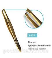 Пинцет профессиональный скошенный SPL 9157