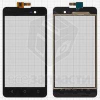 Тачскрин (сенсор) для мобильного телефона Wiko Lenny 2, черный