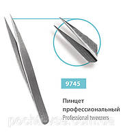 Пинцет профессиональный острый SPL 9745