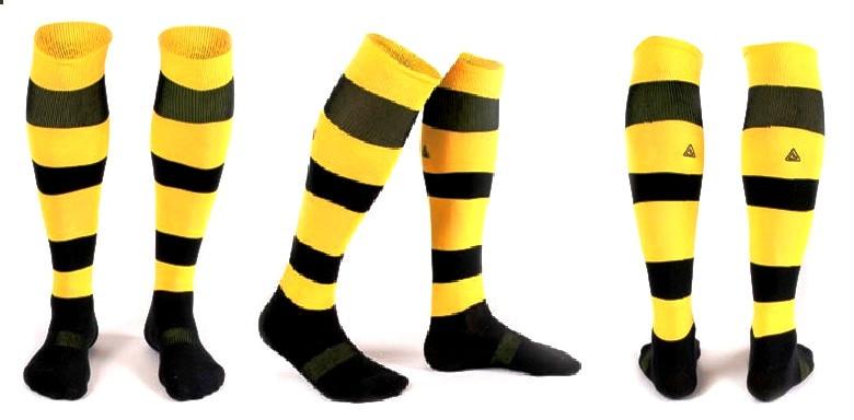 Гетры Liga Sport желто-черные полосатые