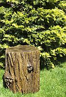Бетонный пенек под дерево