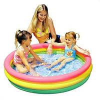"""Детский надувной бассейн Intex, 57412 """"Радуга"""""""