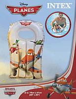 Плотик надувной Planes, 74-51 см, для детей 3-6 лет