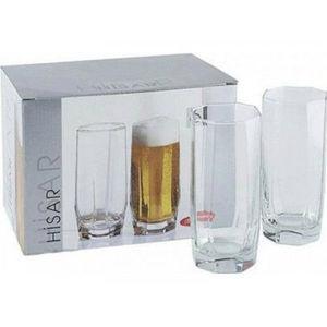Высокий стакан Pasabahce Hisar, 330 мл (h=142мм,d=61,5х55мм) 42857