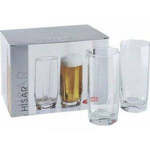 Высокий стакан Pasabahce Hisar, 330 мл (h=142мм,d=61,5х55мм) 42857, фото 2