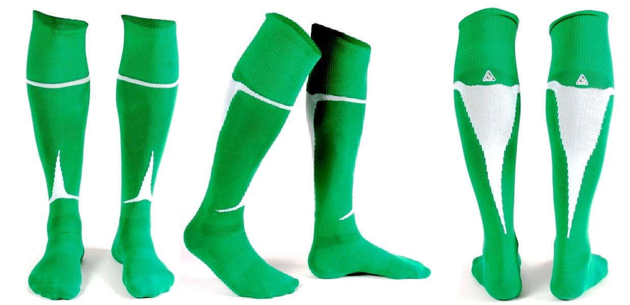 Гетры Liga Sport зелено-белые