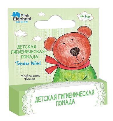 Гигиеническая помада для мальчиков Медвежонок Потап - МОЯ ЛАВКА в Киеве