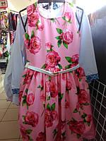 Платье для девочки летнее 122-140