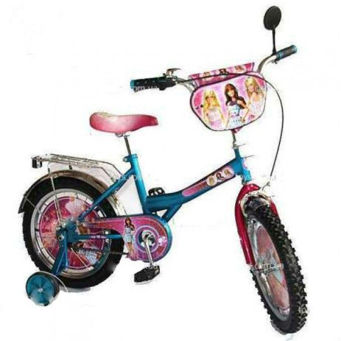 Двухколесный велосипед Барби 16
