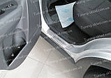Накладки на пороги Kia Sorento 2 (накладки порогов Киа Соренто 2), фото 2