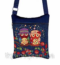 Пляжная сумка хлопковая на плечо, фото 2