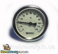 Термометр биметаллический для заторного бака, фото 1