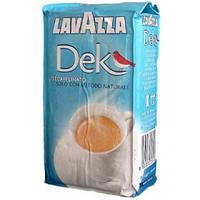 Кофе молотый без кофеина Lavazza Dek 250 гр