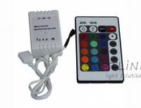 RGB Контроллер 12А ИК 24 кнопки