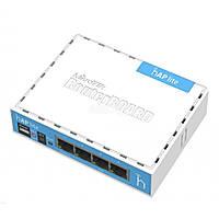 Mikrotik hAP lite RB941-2ND (N300, 650MHz/32Mb, 4x10/100 Ethernet ports, 1,5 dBi)
