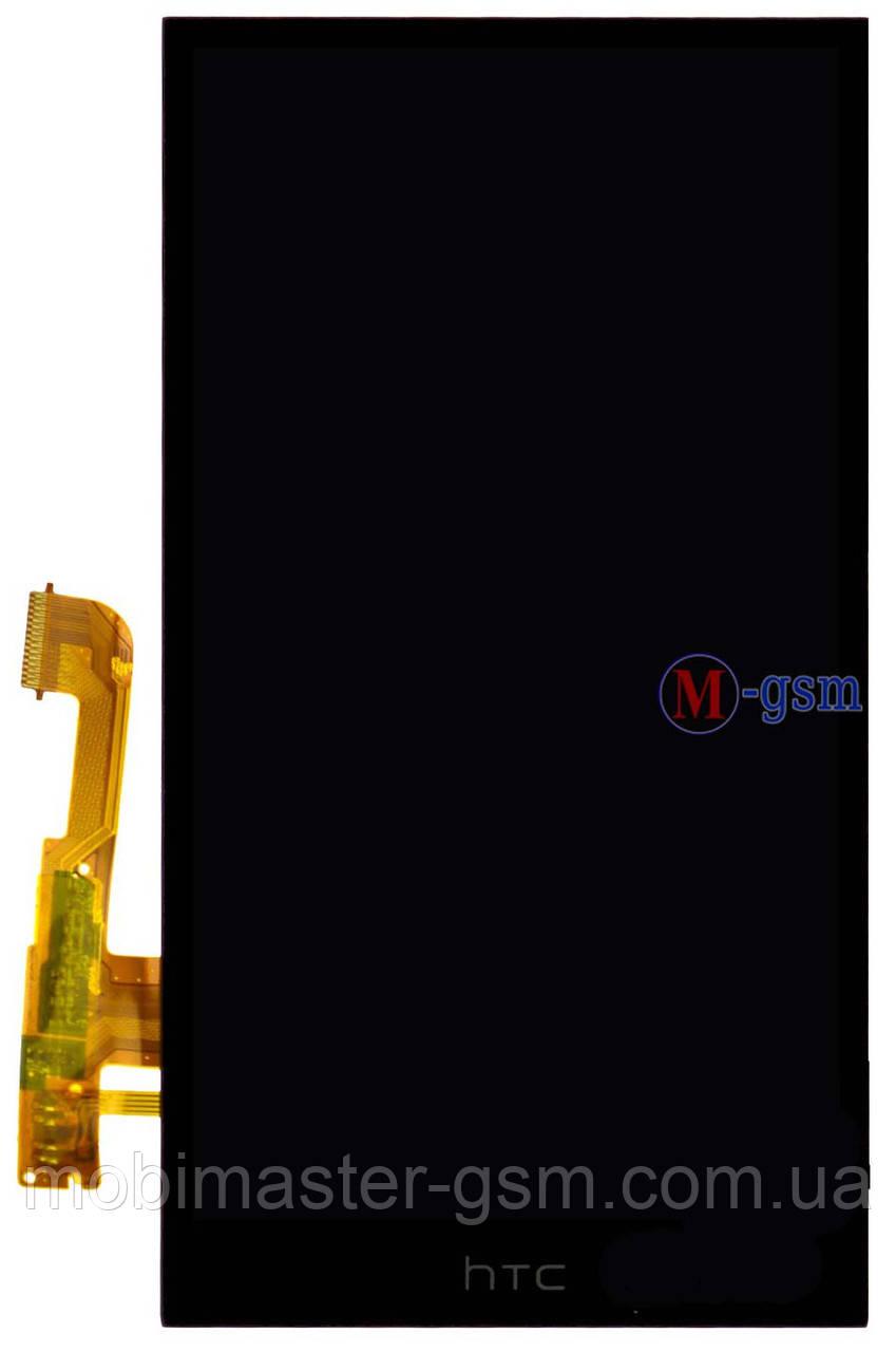 LCD модуль HTC One M8 черный