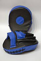 Лапа изогнутая (2шт) искусственная кожа, черно-синий