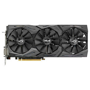Видеокарта Asus PCI-Ex GeForce GTX 1060 ROG Strix 6GB, фото 2