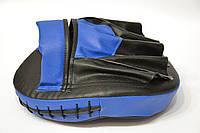 Лапа изогнутая (1шт) искусственная кожа, черно-синяя