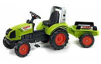 Детский трактор на педалях Falk 1040AB Claas Arion 430