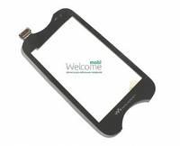 Сенсор (тач скрин) Sony Ericsson WT13 black (оригинал)