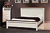 """Кровать белая деревянная """"Беатрис"""""""