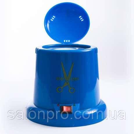 Стерилизатор кварцевый (шариковый) пластиковый, синий