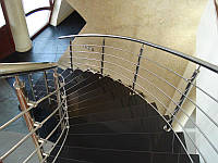 Нержавеющие перила на лестницу