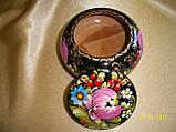 Сувенир Шкатулка деревянная расписная, фото 3