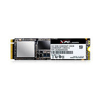 Твердотельный накопитель M.2 128Gb, A-Data XPG SX8000, PCI-E 4x, 3D V-NAND MLC, 1000/300 MB/s (ASX8000NP-128GM-C)
