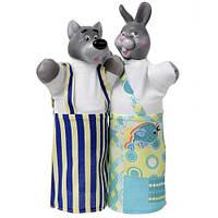 """Набор кукол-рукавиц """"Волк и заяц"""" (2 персонажа)"""