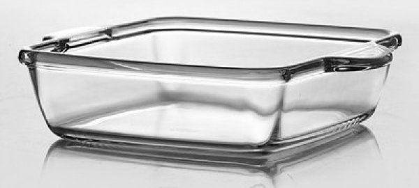 Блюдо квадратне Pasabahce Borcam з ручки. ж/у, 2,95 л (273х273х60мм) 59244, фото 2