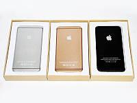 Внешний аккумулятор iPhone Power Bank 20000 mAh iPhone style золотой, серебряный, черный