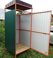 Туалетная кабинка для дачи