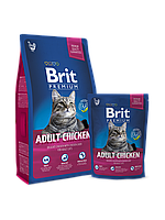 Brit Premium Cat Adult Chicken 8 кг