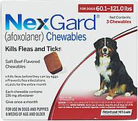 NexGard (Нексгард) XL - Жевательная таблетка от клещей и блох для собак весом от 25 до 50 кг