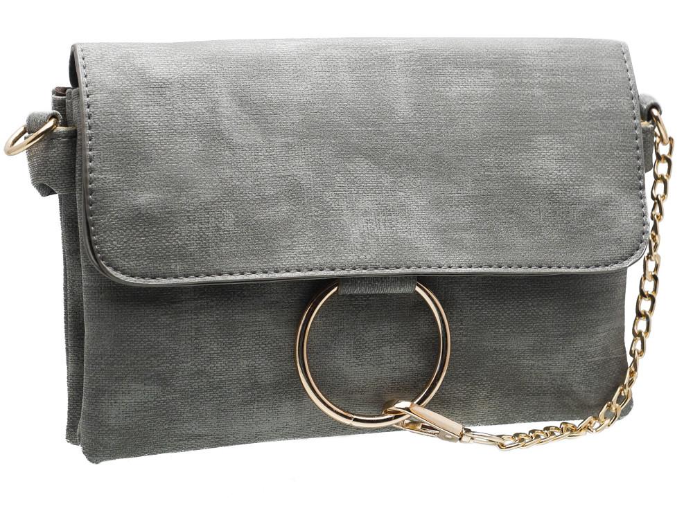 Сумка женская 837 grey