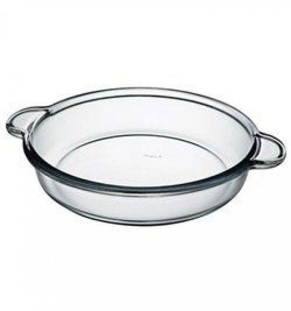 Круглое блюдо Pasabahce Borcam с ручк. ж/у, 1,85 л (d=256мм) 59234