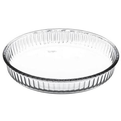Круглое блюдо ж/у, Pasabahce Borcam, 2,95 л (d=318,5мм) 59014, фото 2