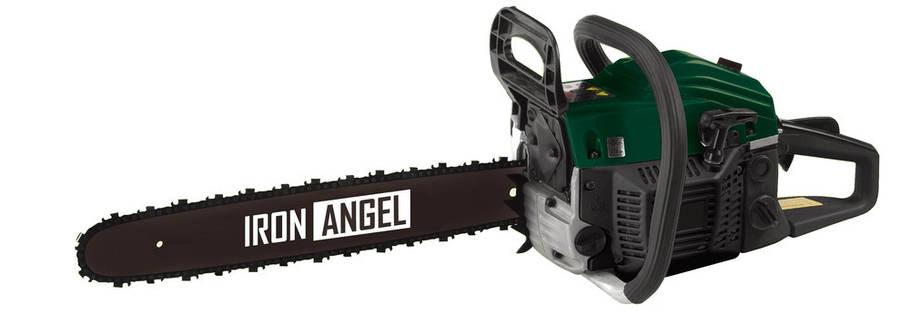 Бензопила Iron Angel CS 450 + БЕСПЛАТНАЯ ДОСТАВКА ПО УКРАИНЕ, фото 2
