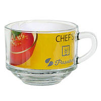 """Кружка для супа с одной ручкой Pasabahce Chef""""s, 635 мл (h=90мм, d=115х60мм)"""