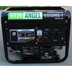 Бензиновый генератор IRON ANGEL EG 3200 E-1 , фото 2