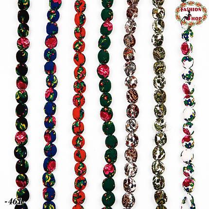 Зелені буси в народному стилі Аліна, фото 2