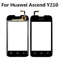 Сенсор (тач скрин) Huawei Ascend U8685 Y210 black (оригинал)